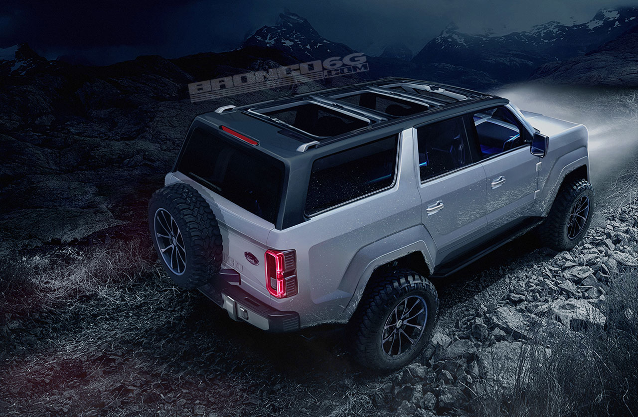 2020-2021 Ford Bronco Four-Door Concept Rendering | 2020-2021 Ford Bronco Forum (6th Generation ...